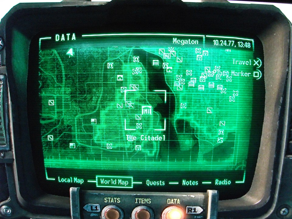 Fallout 3 Map To The Citadel