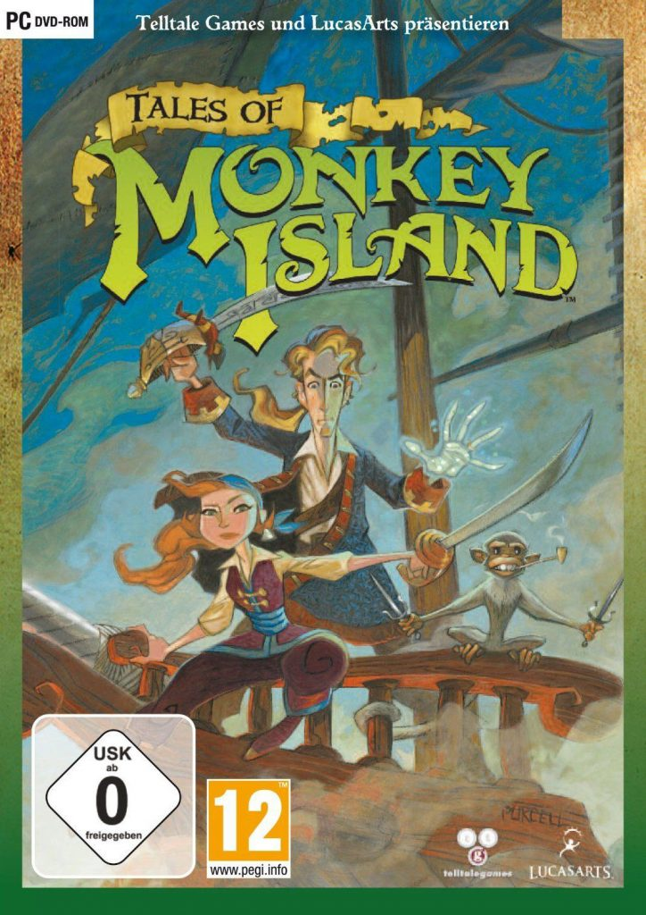 Classic Games - Tales of Monkey Island Game Box Cover