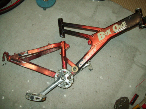 Giant Box One Freeride Series Mountain Bike Red Black Frame