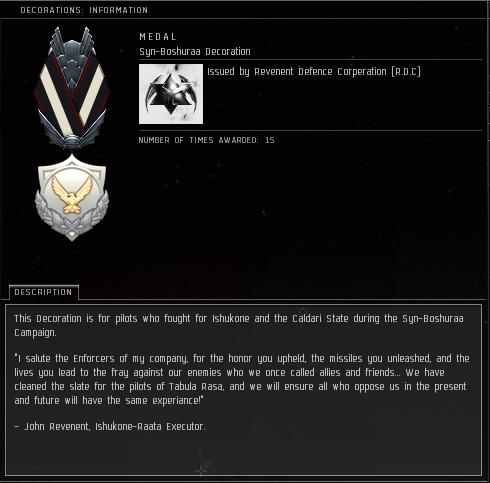 Eve Online Medals and Decorations Archive + Examples | Junglebiscuit