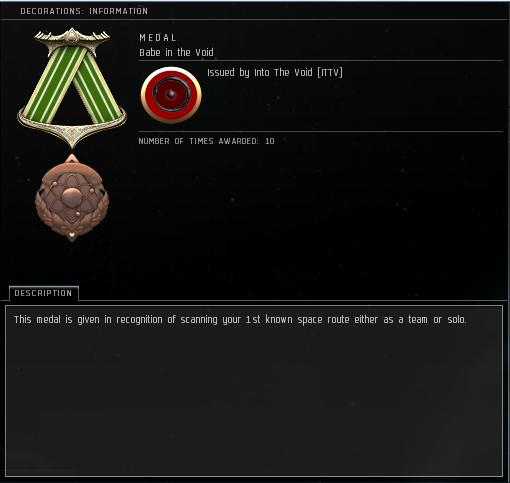 Eve Medal Decoration Award Example - Scanning