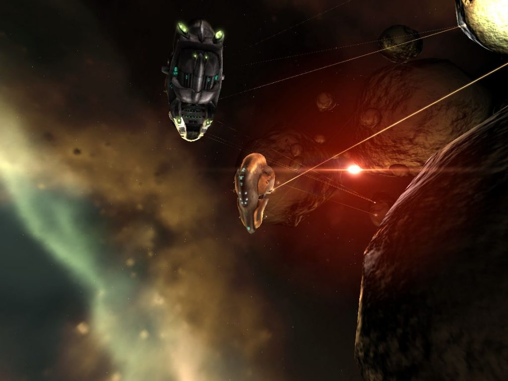 Eve Online Mining Screenshot