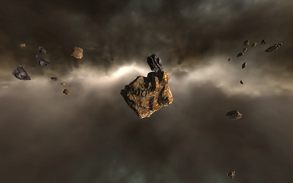Eve Online Asteroid Belt Screenshot