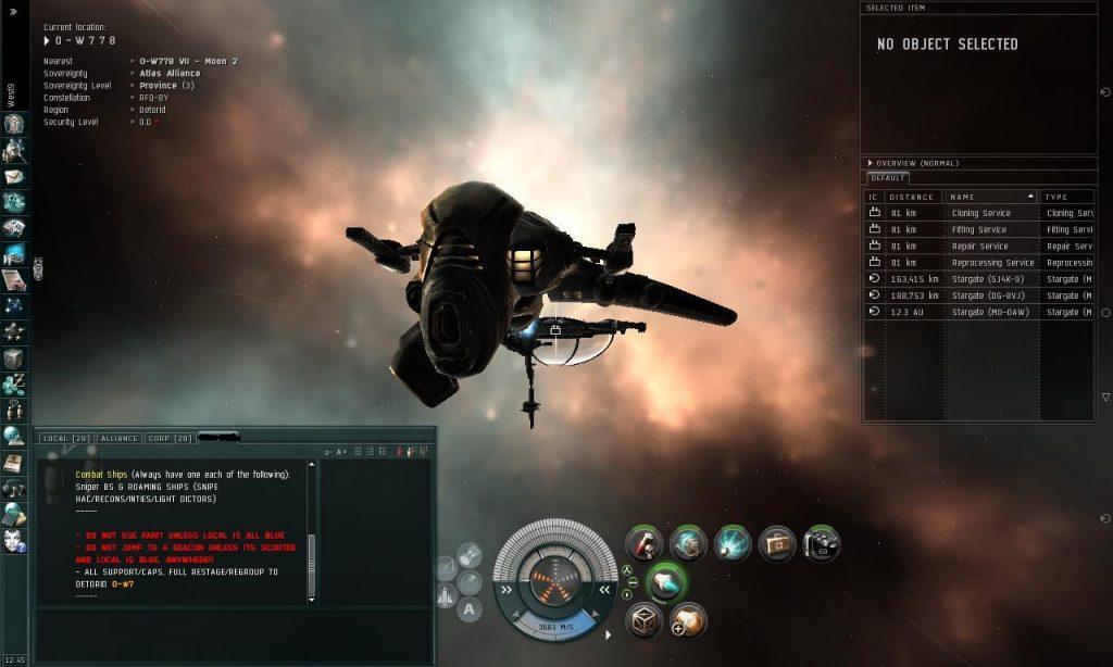 Eve Online Taranis
