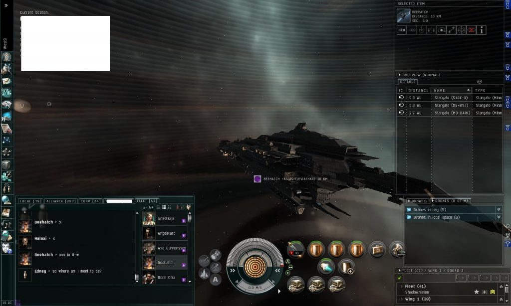 Eve Online Titan Dreadnought
