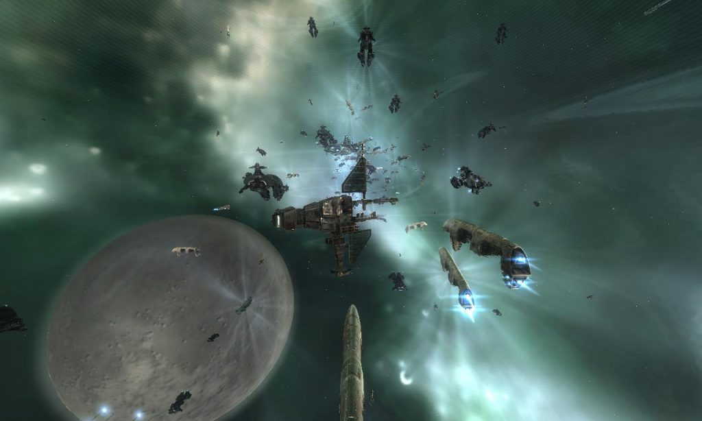 An Eve Online Docking Que