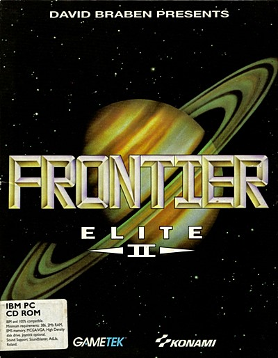 Classic Games - Frontier Elite 2 Box Cover