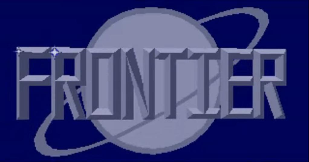 Classic Games - Frontier Elite 2 Title Page