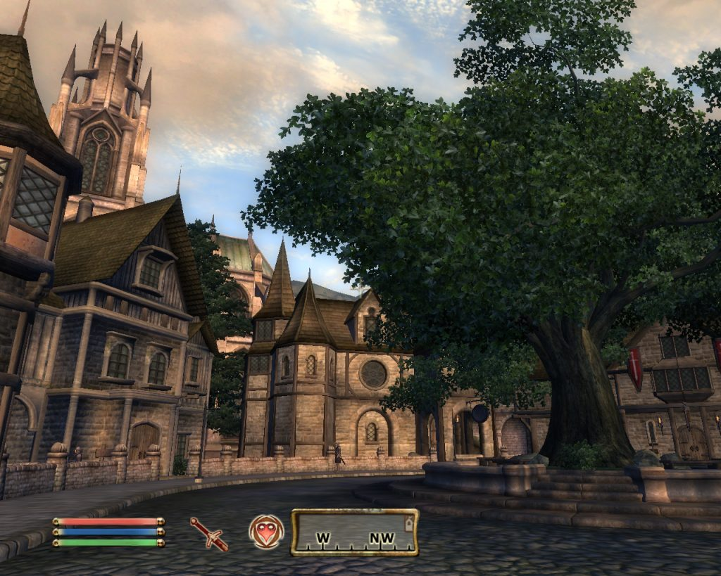 Oblivion Screenshot - Town Square