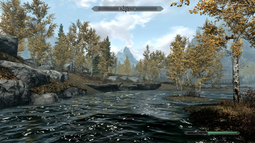 Skyrim Screenshot River