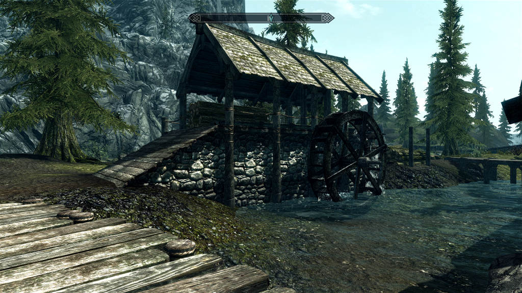 Skyrim Screenshot Watermill