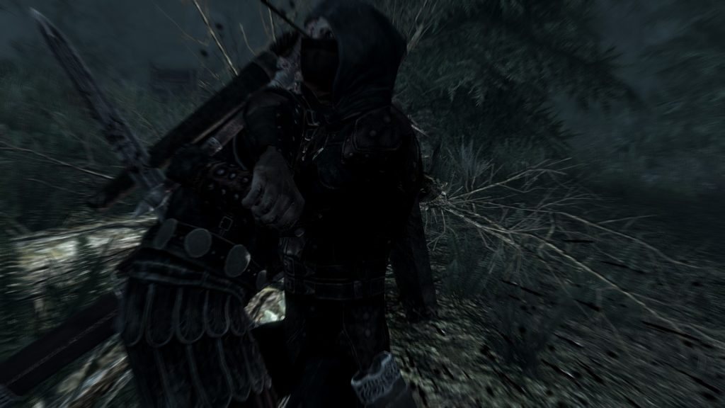 Skyrim Screenshot Arrow Through The Head