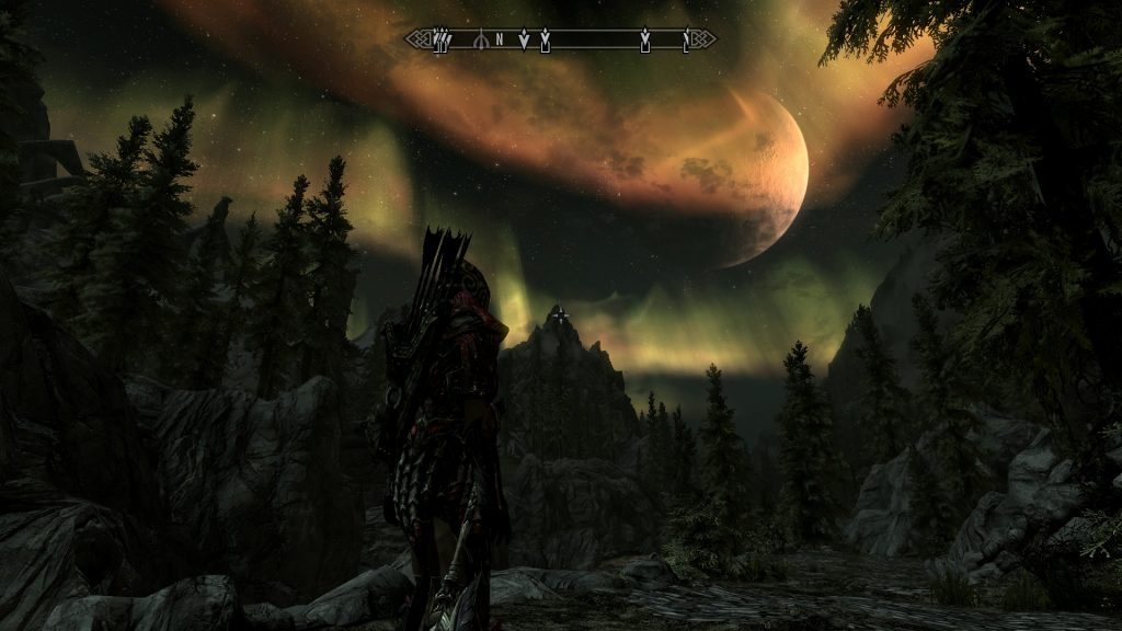 Skyrim Screenshot Cool Night Effects