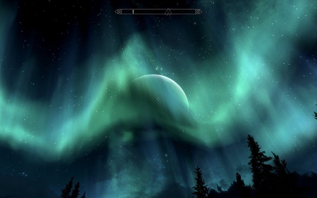 Skyrim Screenshot Sky Effect