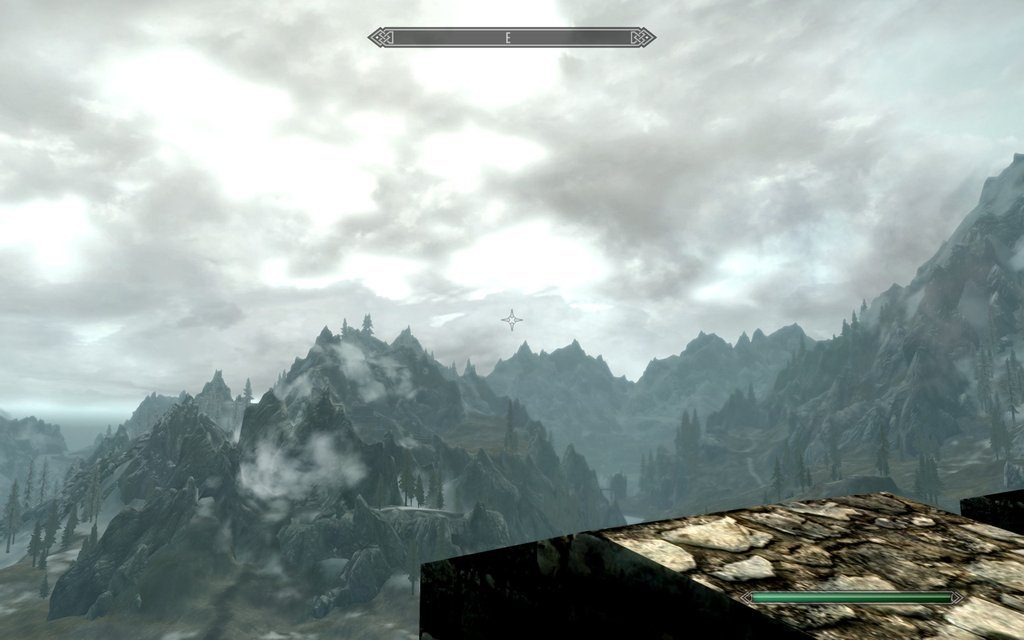 Skyrim Screenshot Good View