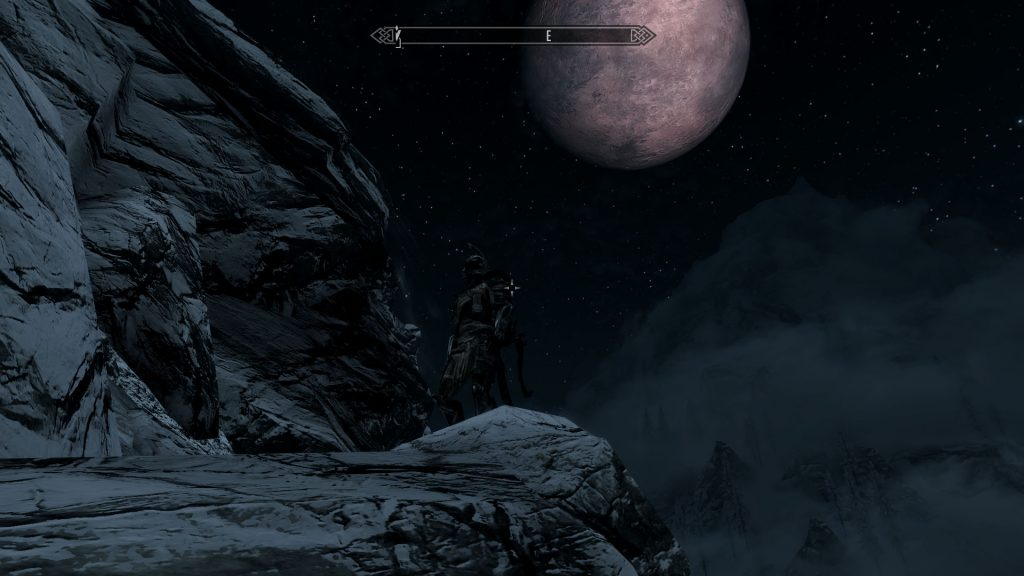 Skyrim Screenshot Blood Moon