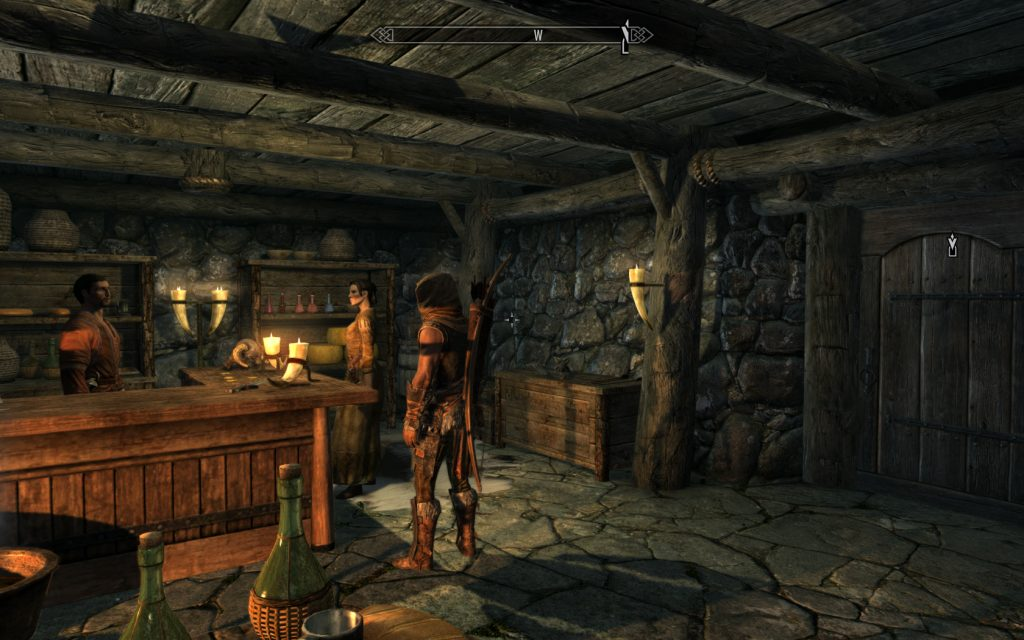 Skyrim Screenshot At The Bar