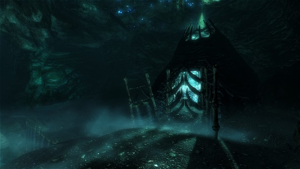 Skyrim Screenshot Bone Hut
