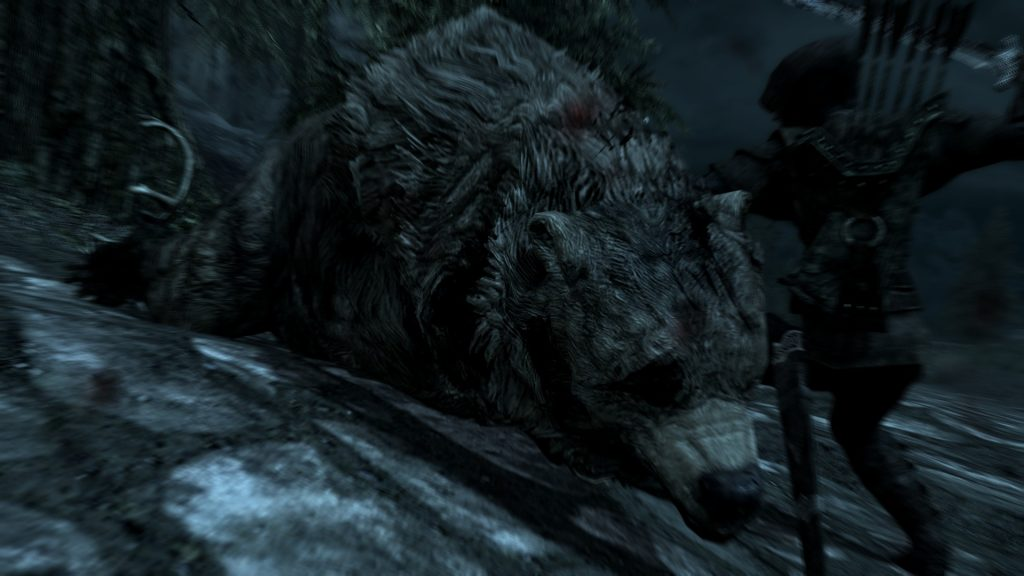 Skyrim Screenshot Dead Bear