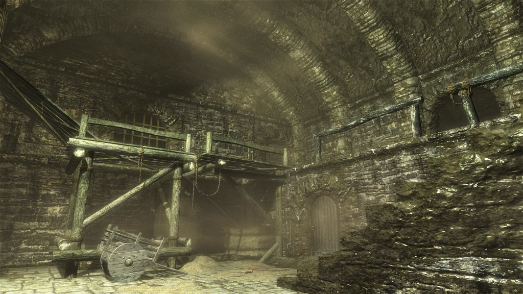 Skyrim Screenshot In The Sewers