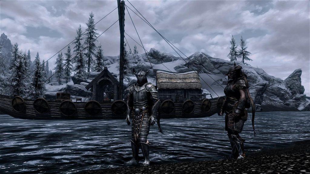 Skyrim Screenshot Nord Boat