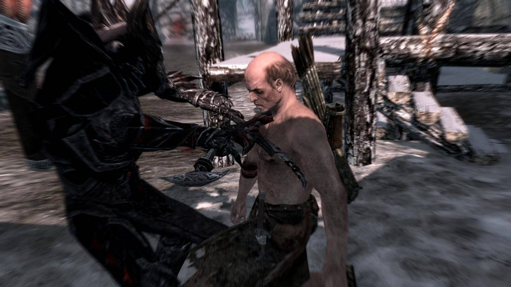 Skyrim Screenshot Finish Him