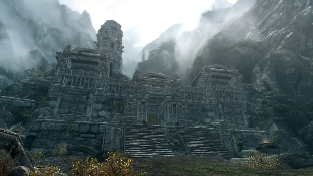 Skyrim Gameplay Screenshots - Markarth City Entrance