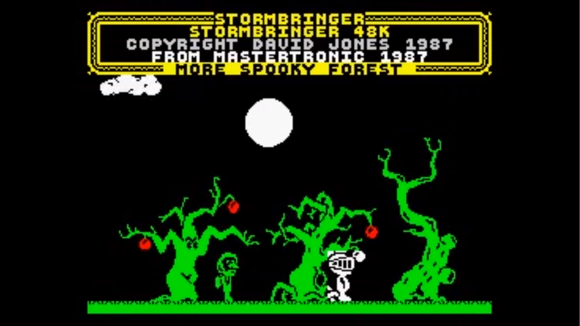 Stormbringer Screenshot - More Spooky Forest and Robin of Shylock