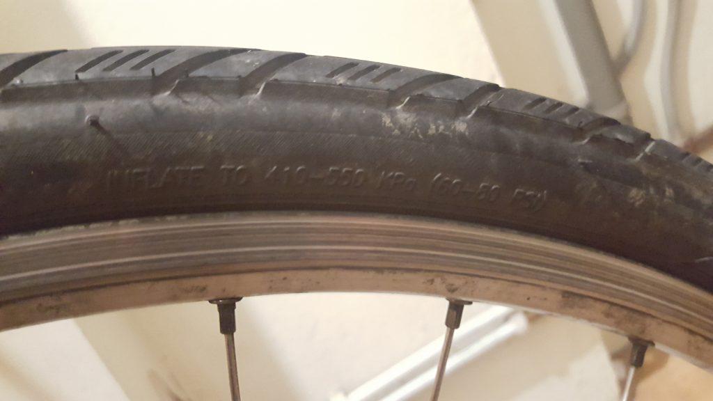 Bike Tyre PSI