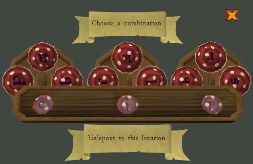 Runescape - Kingdom fairy ring code