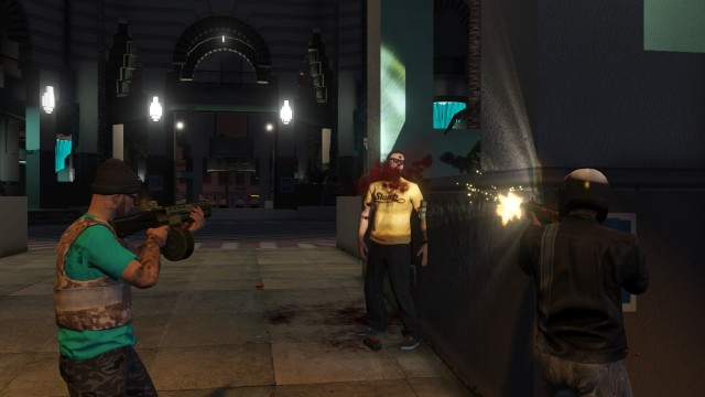 GTA V (GTA 5) Screenshots - Burton Station - Finish Him