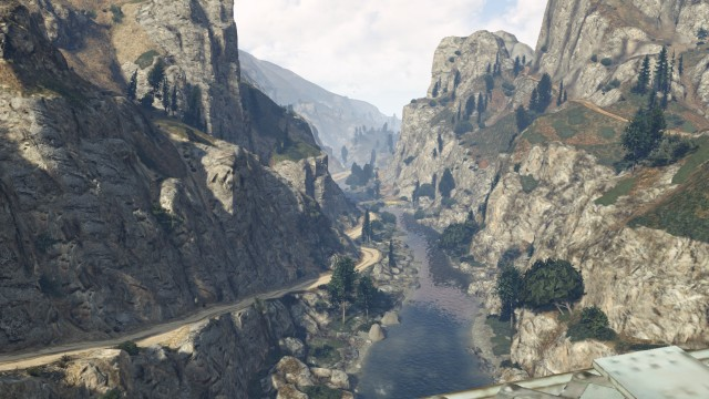 GTA V (GTA 5) Screenshots - Great View of Cassidy Creek