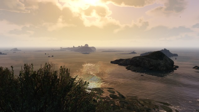 GTA V (GTA 5) Screenshots - Paleto Cove - Sunrise