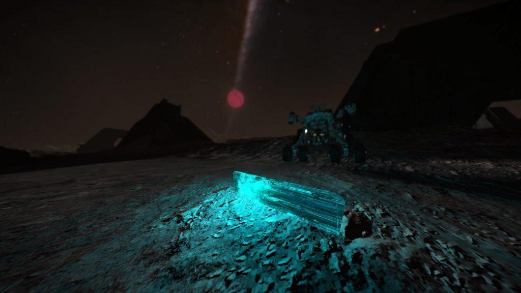 Elite Dangerous Screenshots - Strange Item Discovered On A Planet