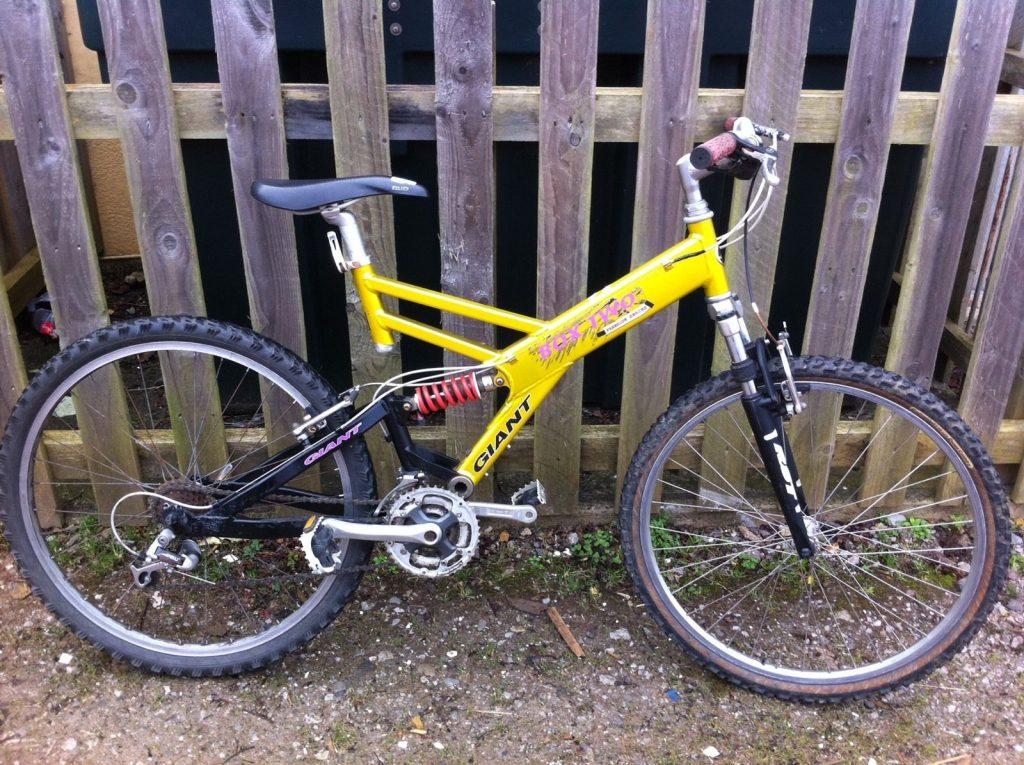 Giant Box Two Gold, Yellow, PinkGiant Box Two Freeride Series Mountain Bike Gold, Yellow, Pink
