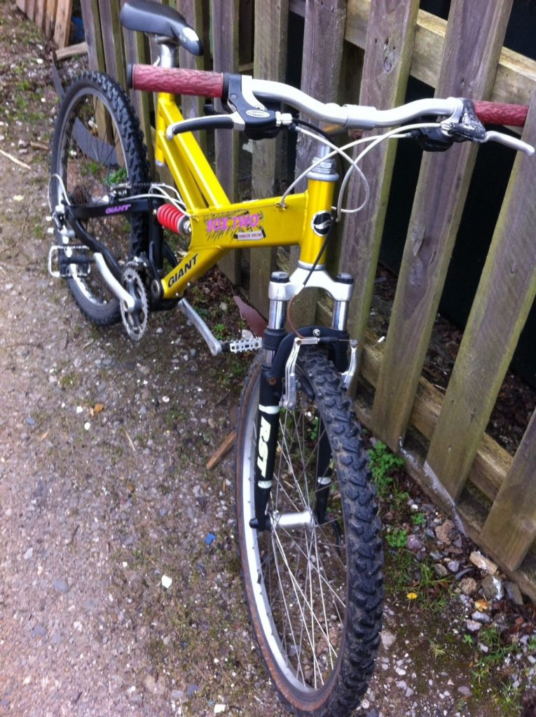 Giant Box Two Gold, Yellow, PinkGiant Box Two Freeride Series Mountain Bike Gold, Yellow, Pink