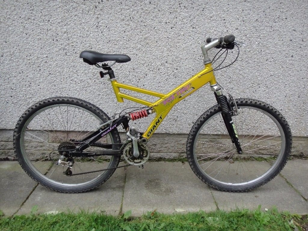 Giant Box Two Freeride Series Mountain Bike Gold, Yellow, Pink