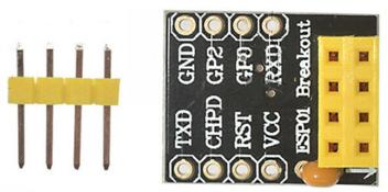 ESP-01 Breakout Adapter